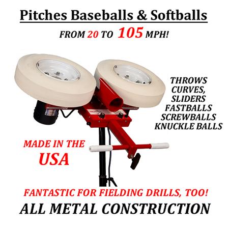 pitch pitching machine