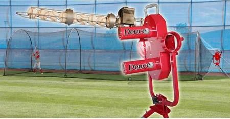 heater deuce pitching machine