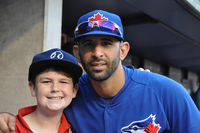 Mike Mannis and Jose Bautista