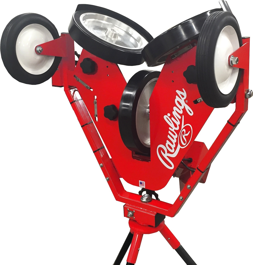 Discount Rawlings Pro Line 3 Wheel Pitching Machine