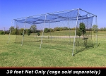Cimarron 30x12x10 #24 Batting Cage Net Only