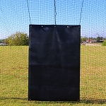 Cimarron 4' x 6' Rubber Backstop