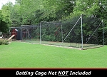 Cimarron 55x15.5x12 Complete Commercial Batting Cage Frame