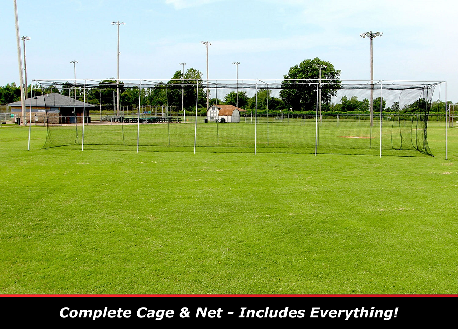 Discount Cimarron 70x14x12 Complete Batting Cage Net Amp Frame