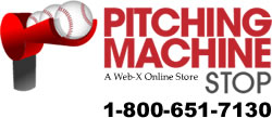 Pitching Machine Stop