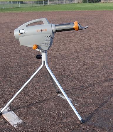 used zooka pitching machine