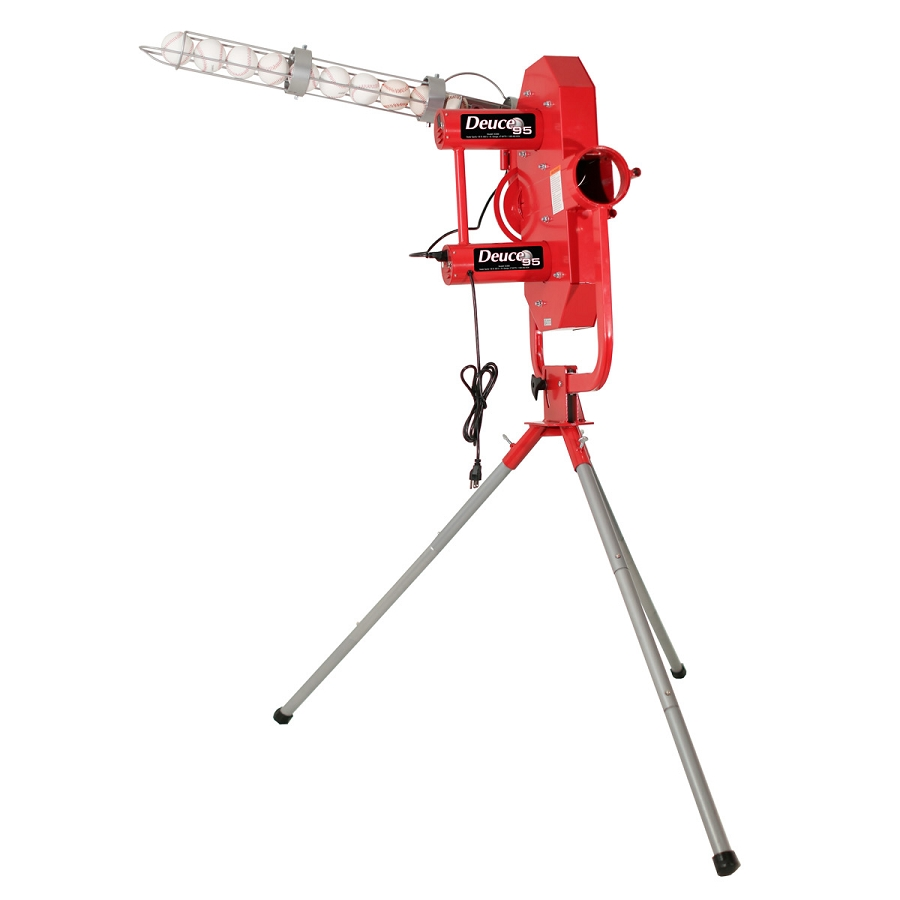 Discount Heater Deuce 95 Two Wheel Curveball Pitching Machine