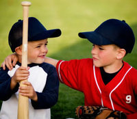 Little league players
