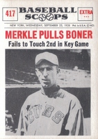 Newspaper Clipping - Merkle's Boner