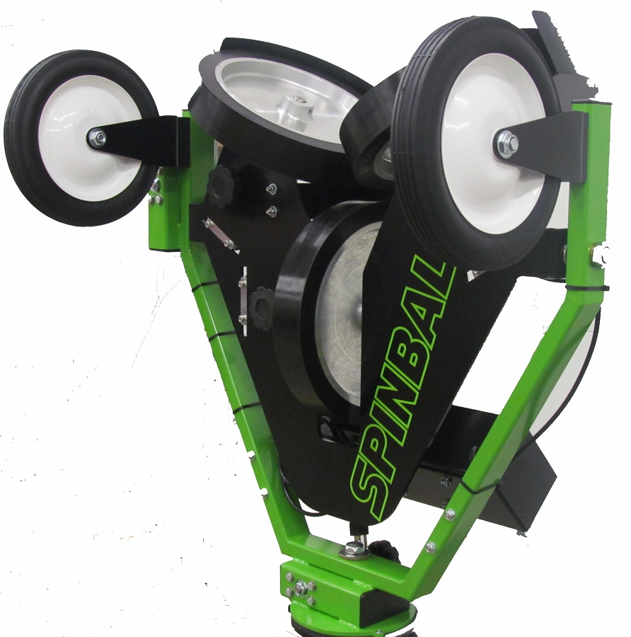 Discount Spinball Wizard 3 Wheel Pitching Machine Free
