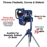 BATA B1 Curveball Pitching Machine