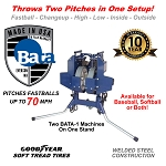 BATA Twin Pitch Pitching Machine