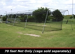 Cimarron 70x14x12 #36 Batting Cage Net Only