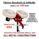 First Pitch Curveball Two Wheel Pitching Machine