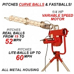 Heater Pro Real Curveball Pitching Machine