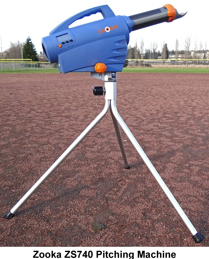 Zooka ZS740 Baseball Pitching Machine