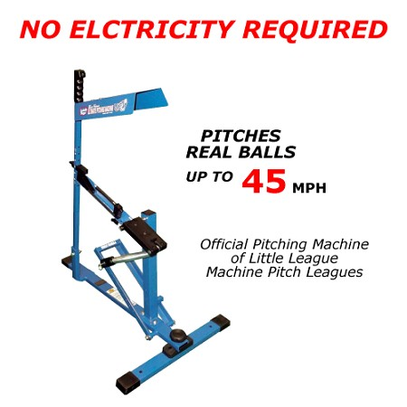 Louisville Slugger UPM 45 Blue Flame Ultimate Pitching Machine