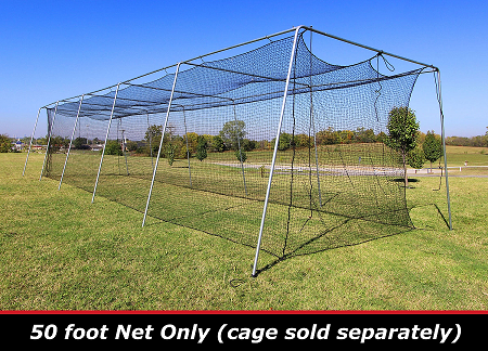 Cimarron 50x12x10 #24 Batting Cage Net Only
