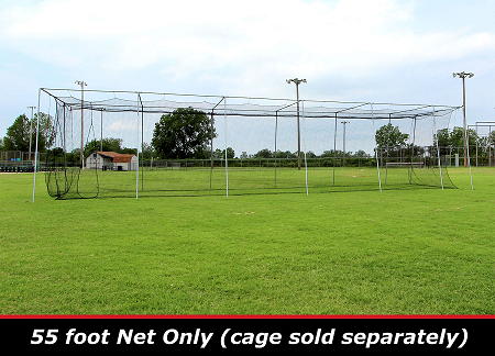 Cimarron 55x14x12 #24 Batting Cage Net Only