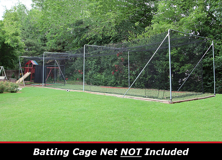 Cimarron 70x15.5x12 Complete Commercial Batting Cage Frame