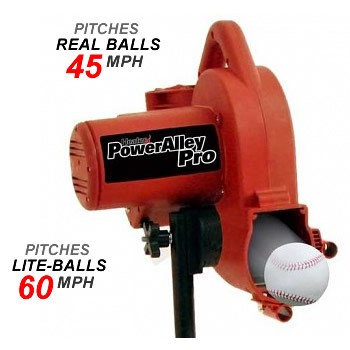 Heater PowerAlley Pro Real Baseball Pitching Machine