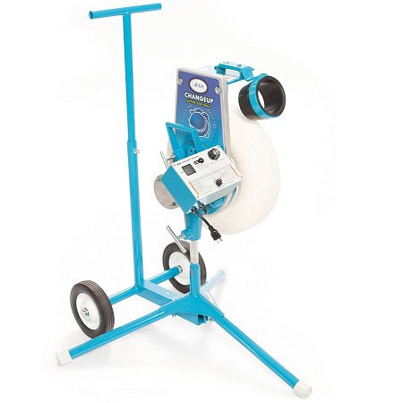 JUGS Changeup Super Softball Pitching Machine with Cart