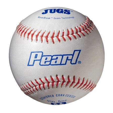 JUGS Pearl Leather Baseballs