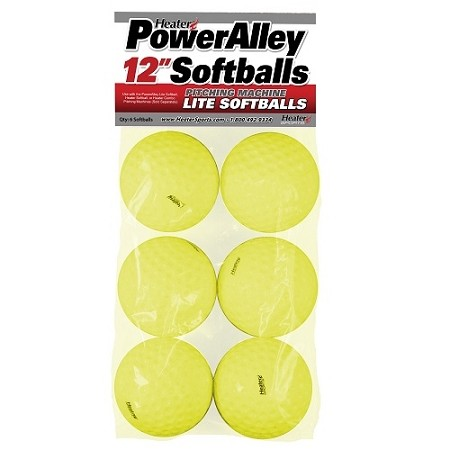 Heater PowerAlley 12 Inch Lite Softballs